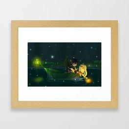 Dark Pit & Viridi - The Most Amazing Things Framed Art Print