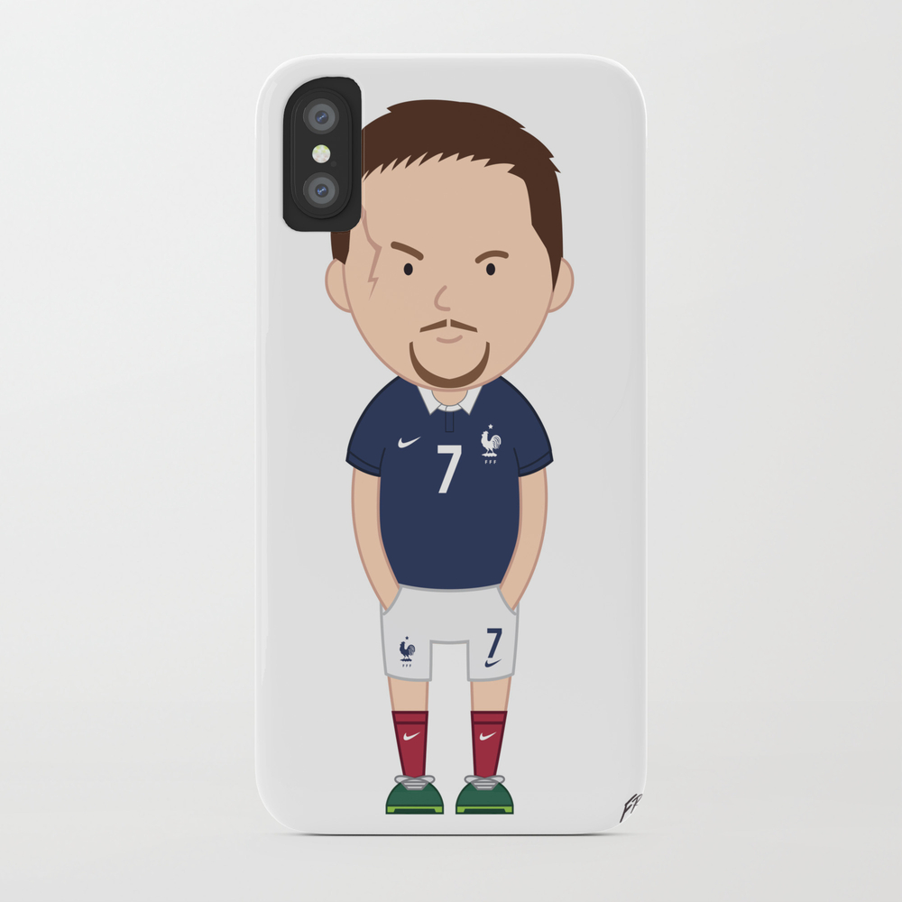 Franck Ribéry - France - World Cup 2014 Phone Case by Toonsoccer PCS9053105