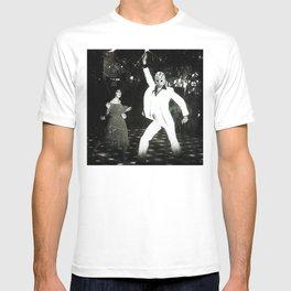 JASON VORHEES AS JOHN TRAVOLTA T-shirt