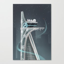 X-MAS BUT WITH MORE ME Canvas Print