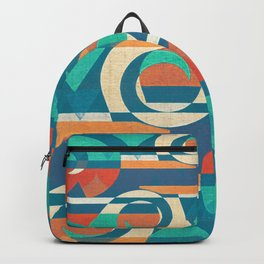 Mountains and Waves Backpack