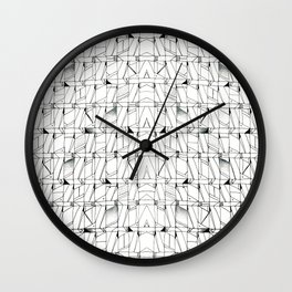 Flaw Wall Clock