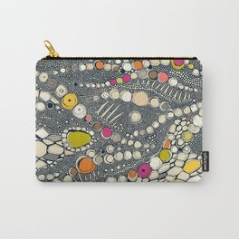 iguana skin indigo pop Carry-All Pouch