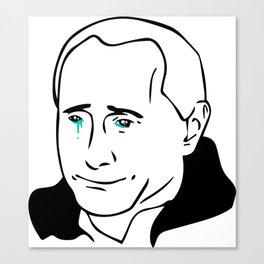Putin Cry Canvas Print