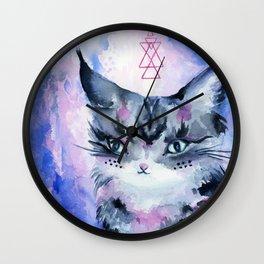 Lynx Cat : Magic Maker Wall Clock