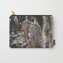 Bonaventure Cemetery - Statue of Eliza Wilhelmina Theus II Carry-All Pouch