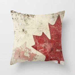 canadiana Throw Pillow