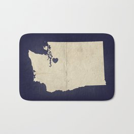 Seattle, Washington Bath Mat