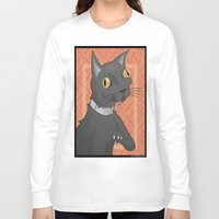 bender Long Sleeve T-shirts featuring Bender by Slightly Absurd