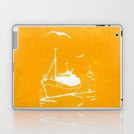 Comrades in Yellow Laptop & iPad Skin