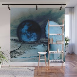 The Moon Fell For Me Wall Mural