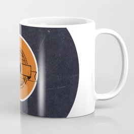 Vinyl Record Art & Design | World Post Coffee Mug