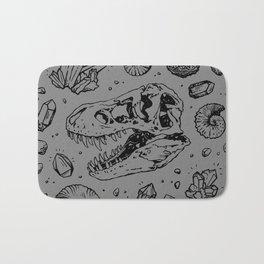 Geo-rex Vortex | Black Bath Mat