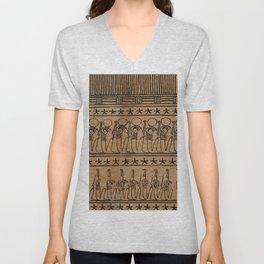 Hieroglyphics Unisex V-Neck