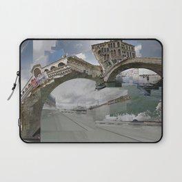 Venice Twice bridge Rialto, Italy Laptop Sleeve