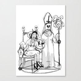 DJÄVEL Canvas Print