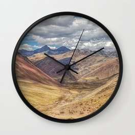 Vinicunca Wall Clock