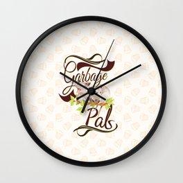 Garbage Pals Wall Clock