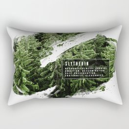 Slytherin Nature Rectangular Pillow