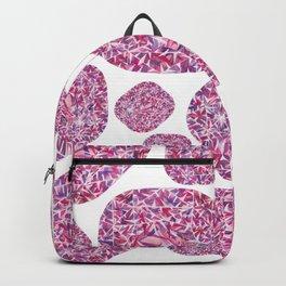 Pink Cushion Gem Pattern Backpack