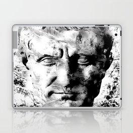 JULIUS CAESAR (BLACK & WHITE VERSION) Laptop & iPad Skin