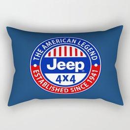 the american legend Rectangular Pillow