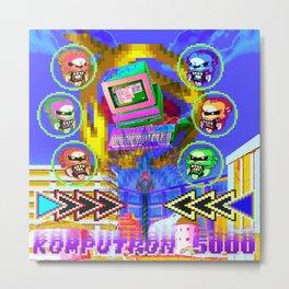 Komputron 5000 Metal Print