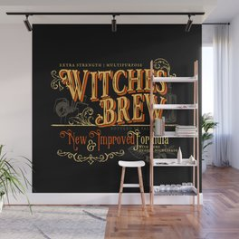 Witches Brew Wall Mural