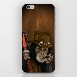 Rockers of the apes iPhone Skin