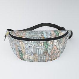 New York watercolor Fanny Pack