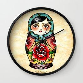 Matryoshka Wall Clock