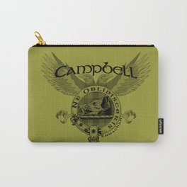 CAMPBELL FAMILY CREST Carry-All Pouch