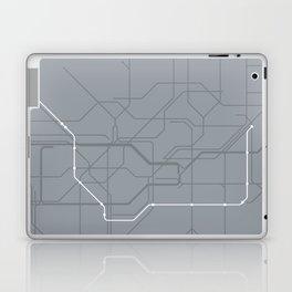 London Underground Jubilee Line Route Tube Map Laptop & iPad Skin