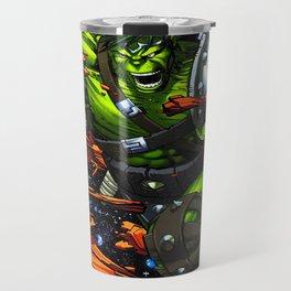 green rampage Travel Mug