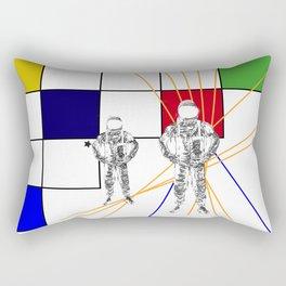 Monday duo Rectangular Pillow
