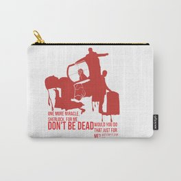 Sherlock Montage Carry-All Pouch