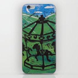 Carousel I iPhone Skin