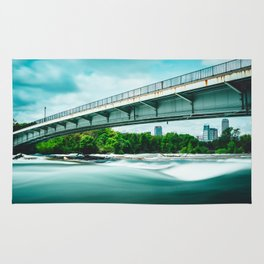 Goat Island Bridge - Niagara Falls Rug