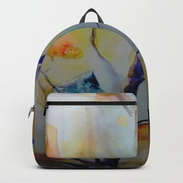 Unique Perspective Birdlife watercolor by CheyAnne Sexton Backpack