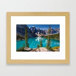 Clear Lake Framed Art Print