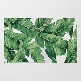 Tropical banana leaves VI Rug