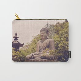 Seated Bronze Buddha Carry-All Pouch