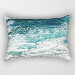 Sea Foam  Rectangular Pillow