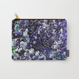 TREES PURPLE AND WHITE Carry-All Pouch