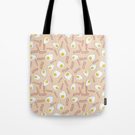 Eggs and bacon Tote Bag