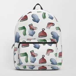 Christmas Winter Clothing Backpack