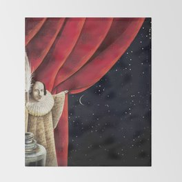 La porta aperta Throw Blanket