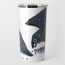 Blue Ravens Travel Mug