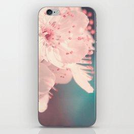 Delicate Strength (Spring White Cherry Blossom) iPhone Skin