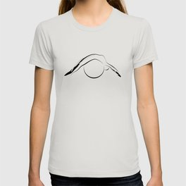 Abstract Pilates pose 21 T-shirt